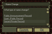 Namechangeticket