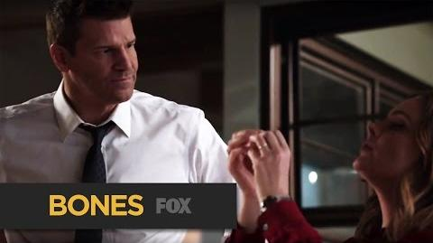 """BONES A Difference Of Opinions from """"The Promise in the Palace"""" FOX BROADCASTING"""