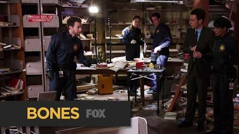 """BONES Step Back from """"The Teacher in the Books"""" FOX BROADCASTING"""