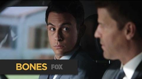 "BONES Shortchange from ""The Senator in the Street Sweeper "" FOX BROADCASTING"
