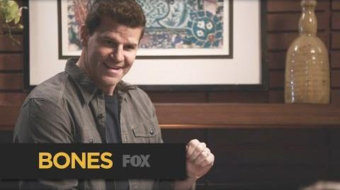 """BONES The Mood from """"The Last Shot at a Second Chance"""" FOX BROADCASTING"""