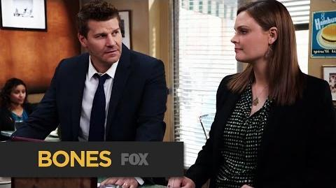 """BONES The Wrong Thing To Say from """"The Woman in the Whirlpool"""" FOX BROADCASTING"""