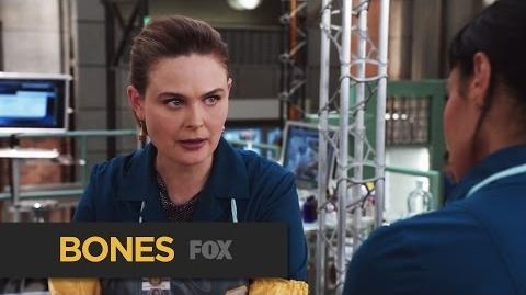 "BONES Welcome Back from ""The Donor in the Drink"" FOX BROADCASTING"