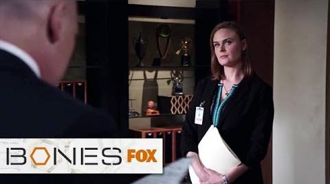 """Playing The Odds from """"The Conspiracy In The Corps"""" BONES FOX BROADCASTING"""