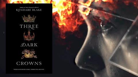 THREE DARK CROWNS by Kendare Blake Official Book Trailer