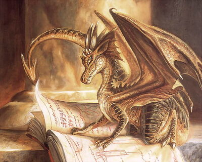 Golden Dragon Reading Book