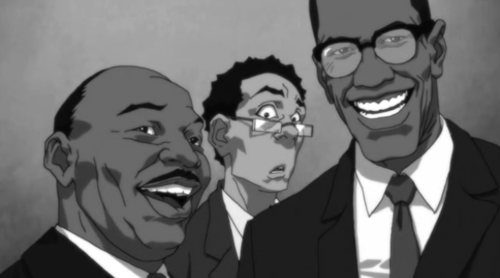 File:Boondocks King and Malcolm X.png