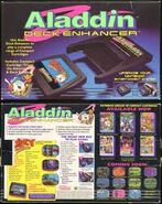 Aladdin Deck Enhancer Advert and Latest
