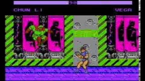 Street Fighter X Turbo 40 (NES Pirate Game)