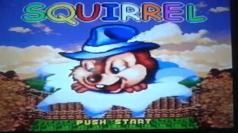 Video de pablo luiz squirrel chip'n dale snes super nintendo super famicom