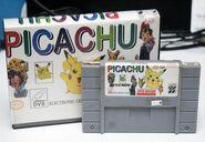 Picachu SNES plastic box
