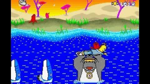 Banana de Pijamas SNES Gameplay
