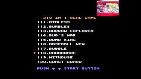 NES 218 in 1 Multicart