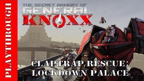 Claptrap Rescue Lockdown Palace