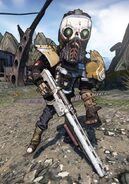 Midget Shotgun Sawtooth