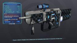 Sparkling Boxxy Gunn 63 Blue Shock