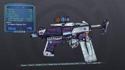 Shokker SMG 70B Blue Shock