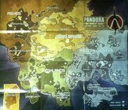 Borderlands 2 World Map