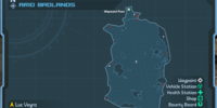 Arid Badlands (DLC4): Weapon Crate Locations