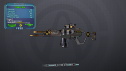 Lv8 Slippery Rifle