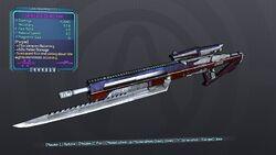 Conditional Sniper Rifle 70D Purple None