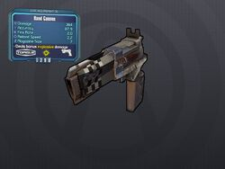LV 26 Hand Cannon