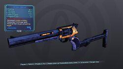 Gunstock Smasher Blue None