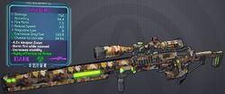 Sniper(Borderlands2) Liquid(3shot) lvl25