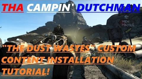 "Borderlands ""THE DUST WASTES"" custom content installation tutorial! *Borderlands custom content*"