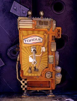 Torgue machine