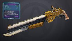 BL2 Barbed Coach Gun