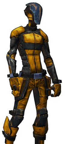 File:BL2-Zer0-Skin-Amber Assassin.png