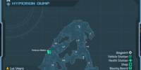 Hyperion Dump: Weapon Crate Locations