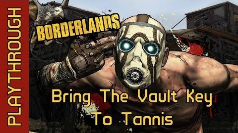 Bring The Vault Key To Tannis