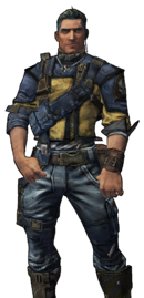 BL2-Axton-Skin-Fade To Blue
