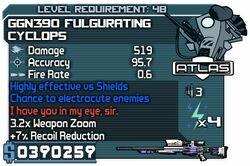 GGN390 Fulgurating Cyclops
