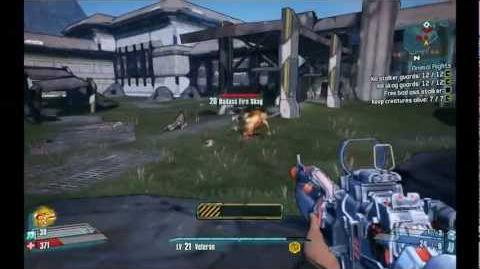 Borderlands 2 Axton Gameplay Animal rights quest