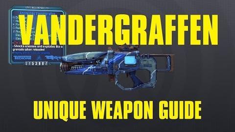 Alternating Vandergraffen Unique Tediore Laser Borderlands The Pre-Sequel!