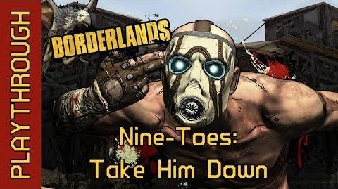 Nine-Toes Take Him Down
