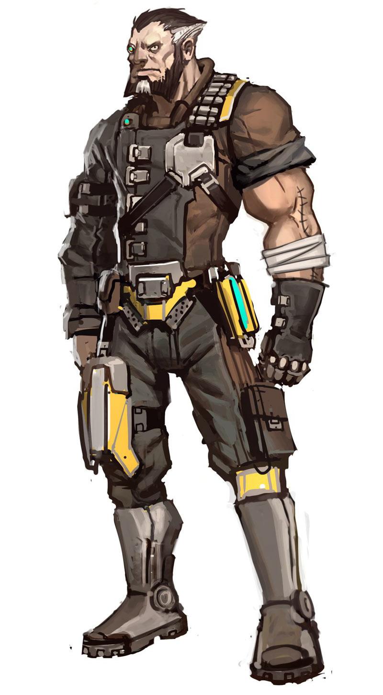 Image - Pre Sequel Wilhelm concept final.jpg | Borderlands ... Borderlands Characters Brick