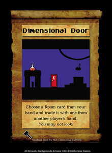 SPELL, DIMENSIONAL DOOR