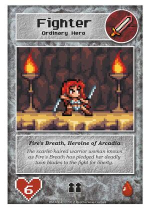 BMA064 Fire's Breath, Heroine of Arcadia