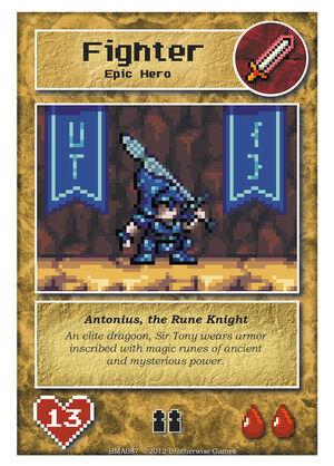 BMA087 Antonius, the Rune Knight