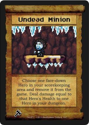 Undead minion