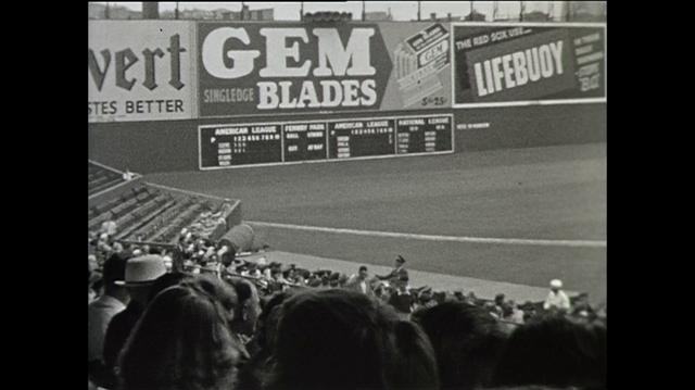 Boston Red Sox vs Cleveland Indians 1940 ...Which Game? May 6th? How about the Trophy?