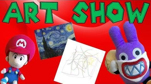 Baby Mario's Art Show