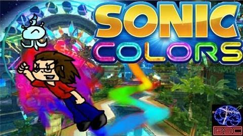 Sonic Colors Part 1 Super Sonic Galaxy?