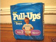 Huggies Pull-Ups for boys size 2 bag 1992