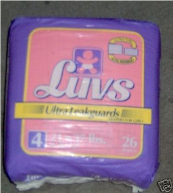 File:Luvs Ultra Leakguards diapers for girls size 4 bag 1994.jpg