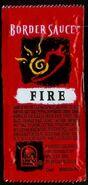 Taco Bell Border Sauce Fire 1997
